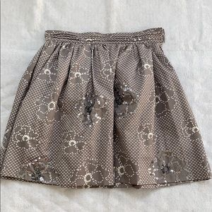 Shulami Skirt Flower Patterned with Sequins Size M
